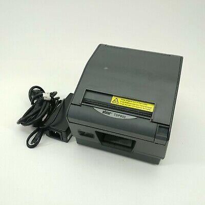 Star Micronics Tsp800 Thermal Barcode Receipt Label Printer Wac Adapter