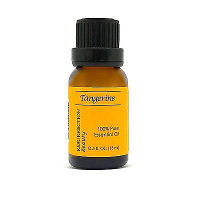 Tangerine Essential Oil, (Citrus reticulata) 100% Pure, 15 ml ()