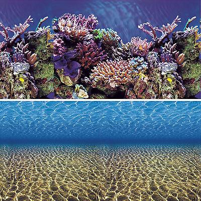 Vepotek Aquarium Background Ocean Seabed /Coral Reef Double sides (Fresh & Salt) Coral Reef Decorations