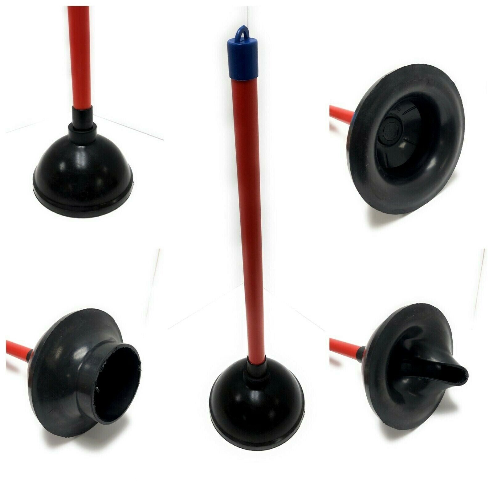 Commercial Heavy Duty Bathroom Toilet Bowl Plunger Cup W/ 20