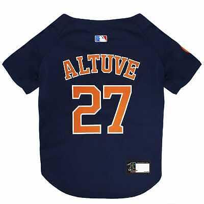 Pets First Houston Astros Jose Altuve Dog Jersey