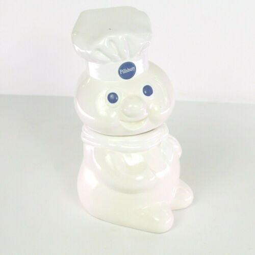 Pillsbury Doughboy cookie jar 1988 White With Blue Eyes