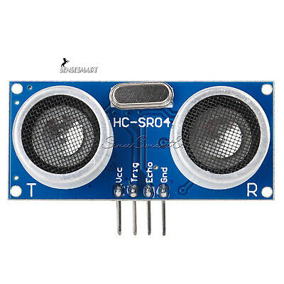 12510pcs Hc-sr04 Ultrasonic Module Distance Transducer Sensor For Arduino