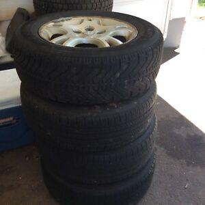 Dodge caravan tires and rims