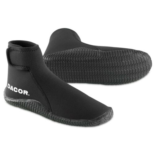 NEW Dacor 5mm Boot, Scuba Diving Snorkeling Booties, Wetsuit Neoprene Dive Boots
