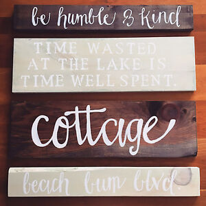 Custom Wooden Signs! 100% Canadian Made