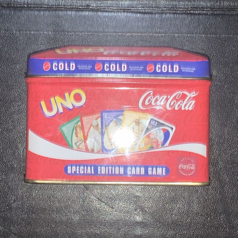 UNO Special Edition Coca Cola Cards Pin up girls featured