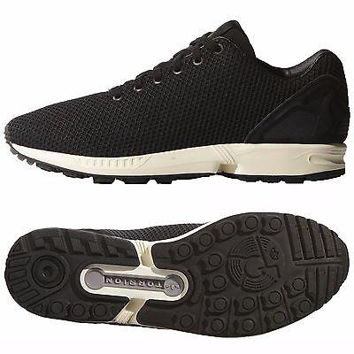 Adidas Originals ZX 8000 Flux Weave B34498 Core Black/White Torsion Men's