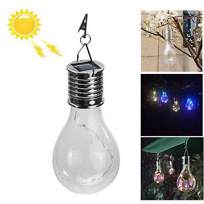 Wasserdichte LED Solar Glühbirne Camping hängende Outdoor drehbare Lampe