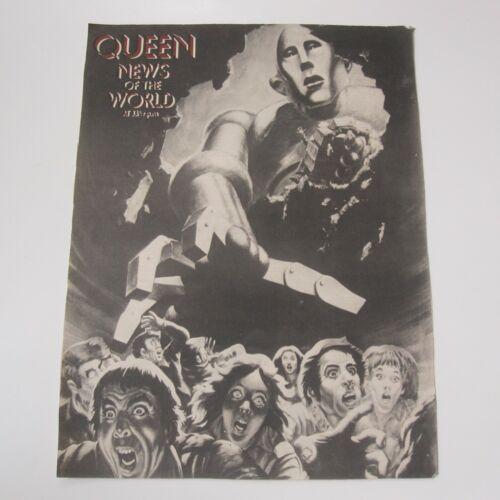QUEEN - News Of The World 1977 Album Original Music Magazine Advert Poster