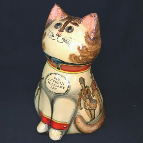 RARE Joan & David de Bethel Papier Mâché Cat for Herbert Johnson in Box! Signed