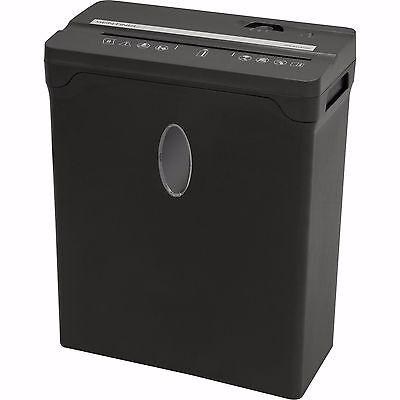 Sentinel Compact 8-Sheet Cross-Cut Shredder - Black