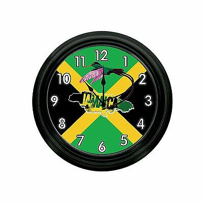 NATIONAL BIRD OF JAMAICA WALLCLOCK