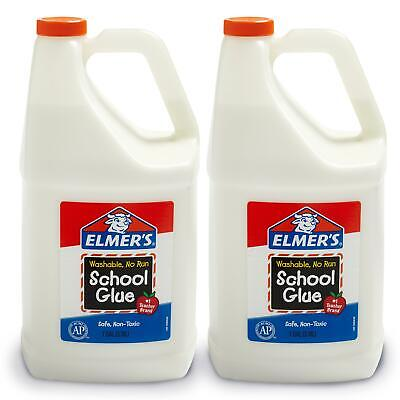 Elmer's Liquid School Glue, Great For Making Slime, White, W