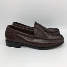 Dexter Mens Penny Loafer US 9.5 D Brown Leather Upper   eBay