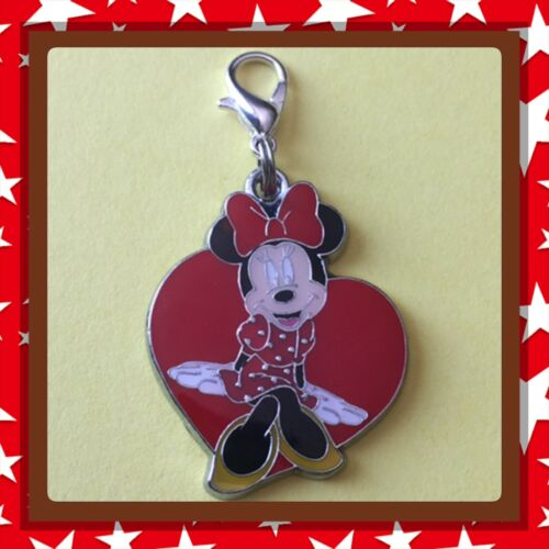 ❤️ Disney Minnie Mouse ❤️ Zipper Pull Charm with Lob
