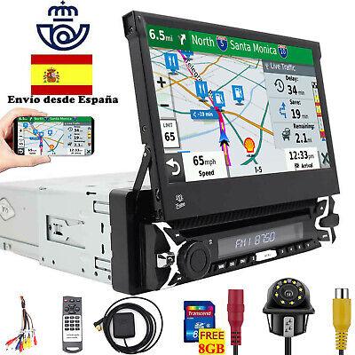 "7"" DAB+Autoradio 1 Din GPS desmontable DVD CD SD Pantalla táctil RDS TDT Radio"