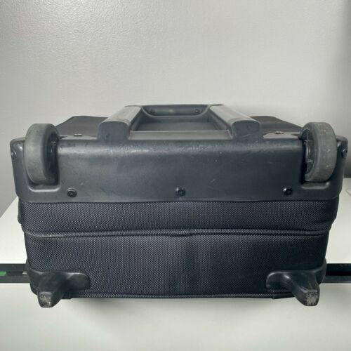 Briggs Riley Compact Rolling Briefcase Carry On Black  - $69.99