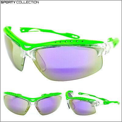 Ciclismo Equitación Deporte Envoltura Gafas de Sol Protector Gafas Ligero Marco