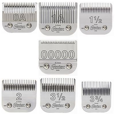Oster 76 Clipper Replacement Blades Power Pack! 7 Blades! Best Selling