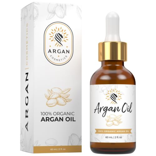 100% Pure Organic Argan Oil of Morocco All Natural Treatment for Hair Skin Nails
