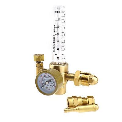 Co2 Argon Flow Meter Pressure Reducer Mig Tig Control Valve Regulator Welding