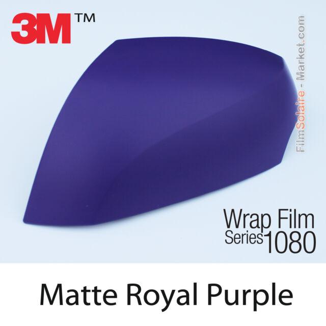 152x250cm FILM Matt Royal Purple 3M 1080 M38 Vinyl COVERING New Series Wra