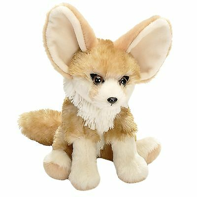 Wild Republic Fennec Fox  8  Plush Cuddlekins Sitting Stuffed Animal New
