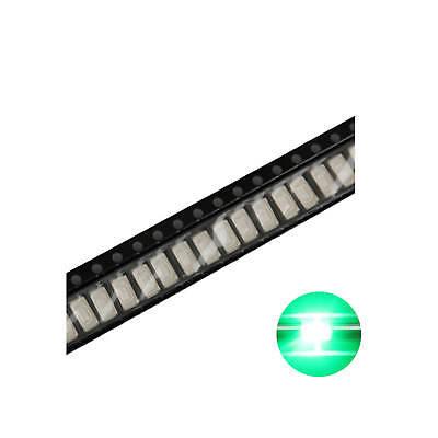 500pcs 5730 Smd Led Diode Lights Green Super Bright Lighting Bulb