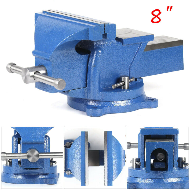 "Heavy Duty 8"" Work Bench Vice Vise Workshop Clamp Engineer J"