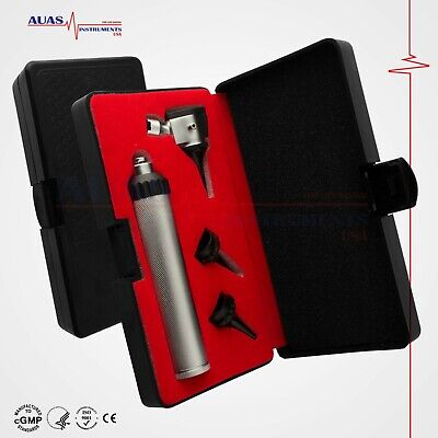 Otoscope Set Ent Medical Diagnostic Surgical Veterinary Instruments. Brand New