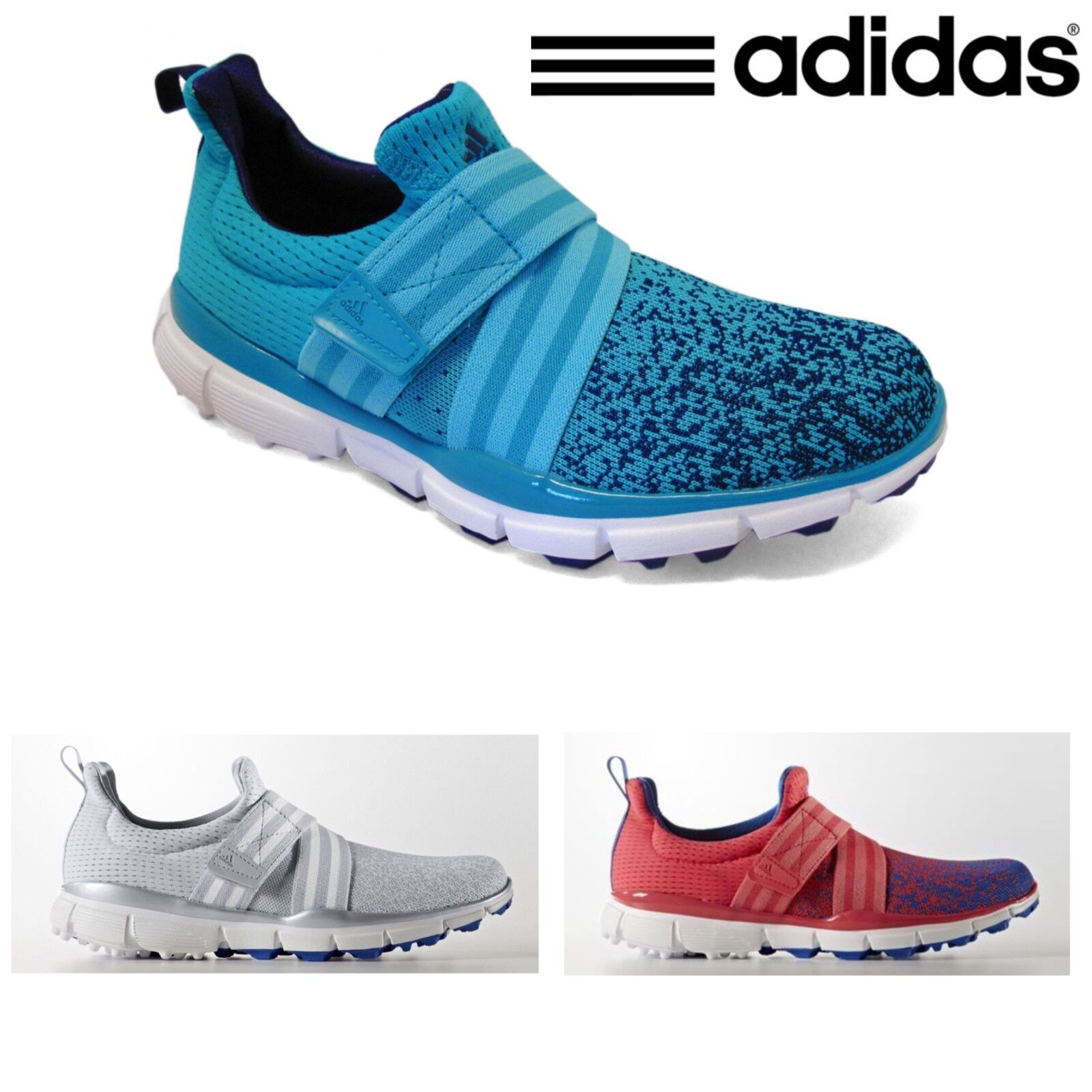buy popular 511e7 11fec adidas Golf 2017 Womens Climacool knit Light weight Ladies Golf Shoes  Trainer