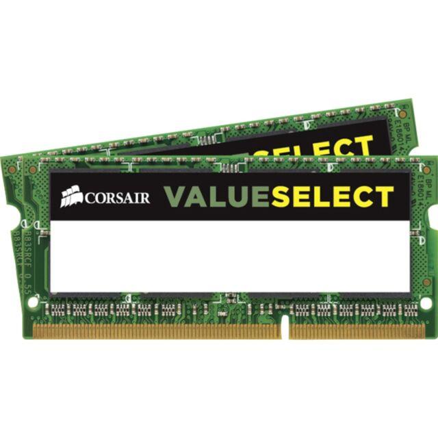 Corsair ValueSelect Arbeitsspeicher SO-DIMM 8 GB DDR3-1600 Kit NEU & OVP 115371