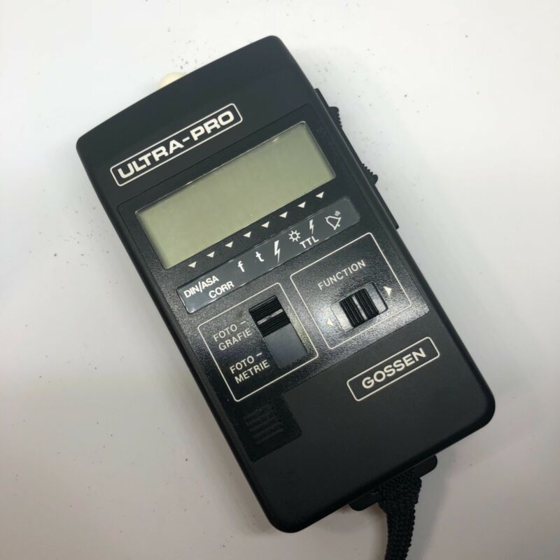 Gossen Ultra Pro Light Exposure meter