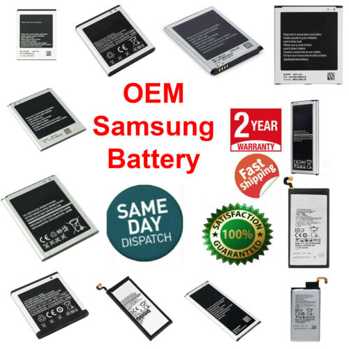 OEM SPEC Battery Replacement For Samsung Galaxy Original Note S4 S5 S6 S7 S8 S9
