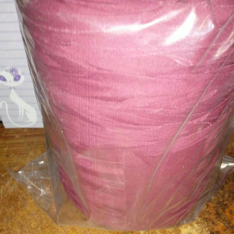 Rag Yarn Precut Fabric Strips 34oz Burgundy