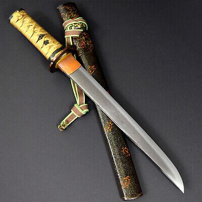 ANTIQUE NIHONTO JAPANESE KATANA SWORD TANTO SUKESADA 祐定 signed w/KOSHIRAE 1575