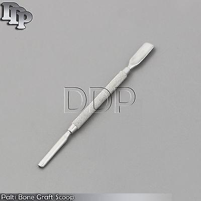 X5 Dental Palti Bone Graft Scoop Bone Carrier Grafting Surgical Implantology New
