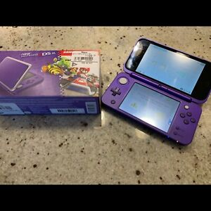 New Nintendo 2DS XL - purple and silver