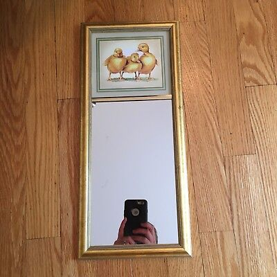 Eglomise Designs Duckling Mirror