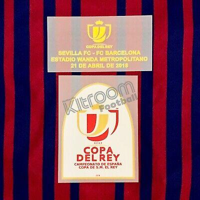2017-18 Barcelona Copa del Rey Final 2018 vs Sevilla Set Player Issue...