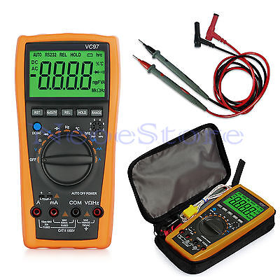 VC97 3999 Auto Range Digital Multimeter Voltmeter Tester All Function AC DC OHM