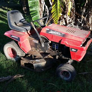 Rover rancher ride on lawnmower