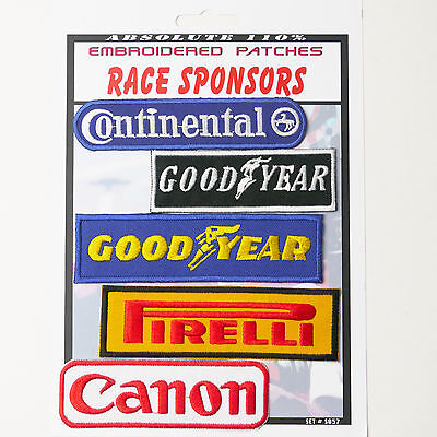 RACE TEAM MOTORSPORT SPONSOR PATCHES Iron-On Patch Super Set #057 - FREE POSTAGE