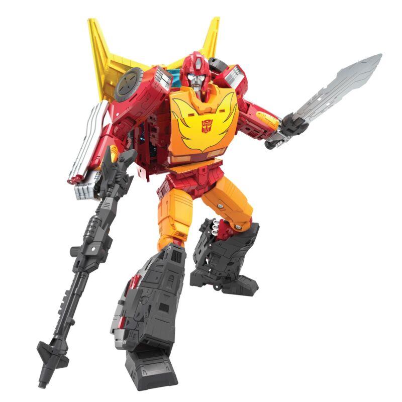 Transformers War for Cybertron Kingdom Commander Class Rodimus Prime In Stock!!