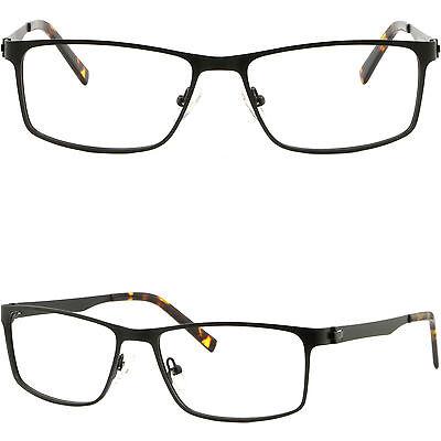 Rectangular Men's Women's Metal Frames Light Durable Prescription Glasses (Durable Prescription Glasses)