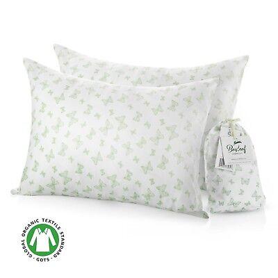 Toddler | Travel Pillowcase Set (2-Pack) 100% Organic Cotton - Bayleaf Organics