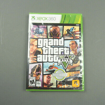 Grand Theft Auto V 5 GTA Xbox 360 Factory Sealed