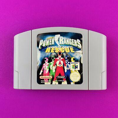 Power Rangers Lightspeed Rescue - N64 - PAL - EUR