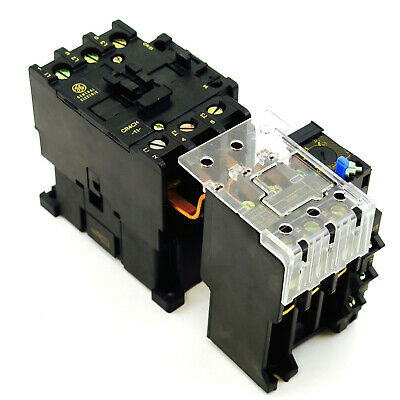 New Ge Magnetic Starter Choose Contactor Coil Voltage Overload Relay Amp Range